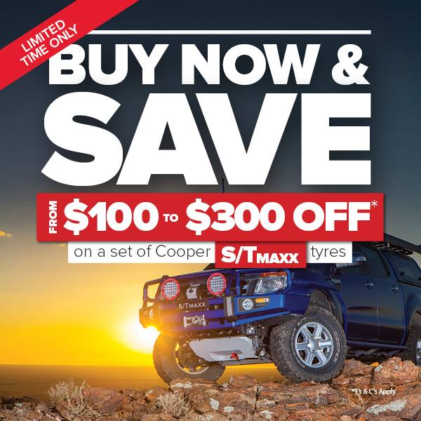 Cooper Tires  up to $300 off S/T Maxx Tyres